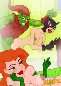 super heroes porn